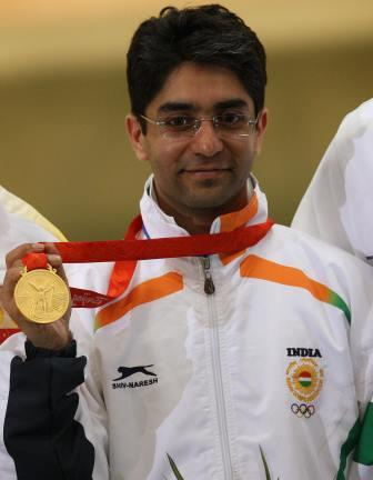 India's Beijing 2008 gold medallist Abhinav Bindra has announced that he will retire after competing here tomorrow ©AFP/Getty Images