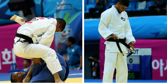 Jordan miss out to Saudi Arabia in judo ©JOC