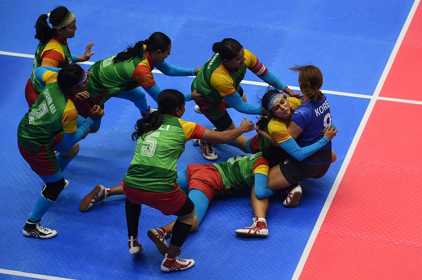 Kabaddi is one sport virtually unique to the Asian continent ©AFP/Getty Images