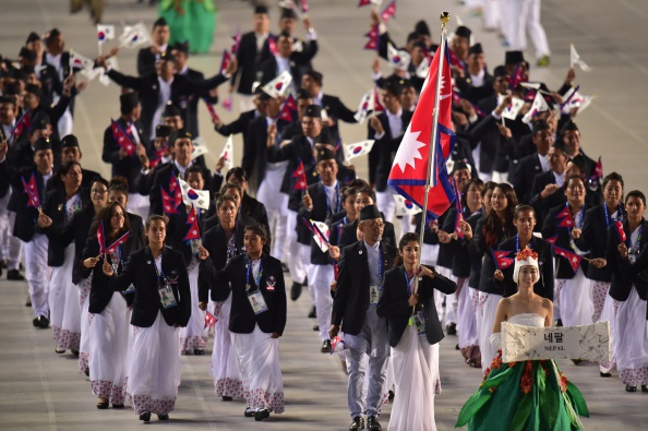 Nepal have been hit by the disappearance of three team members here during the Asian Games ©AFP/Getty Images