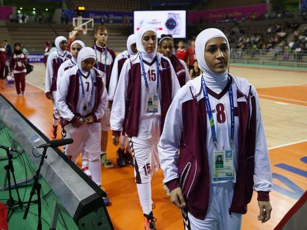 Qatar have pulled out of the Asian Games as the hijab ban continues ©Twitter