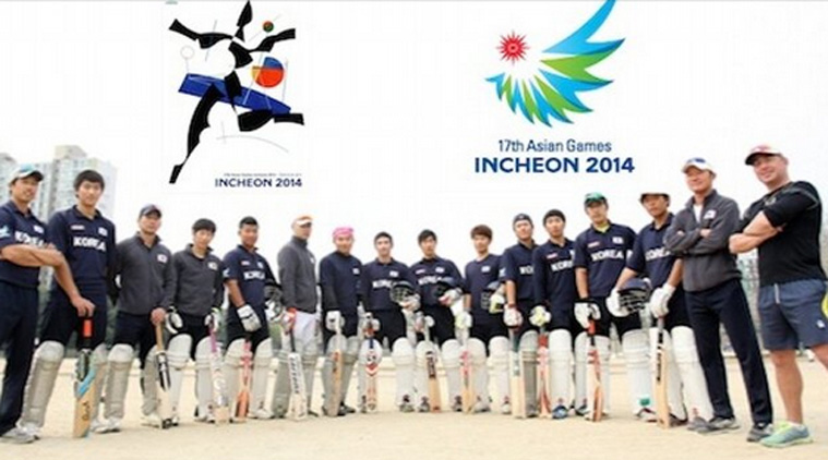 South Korea's cricket team ©Twitter