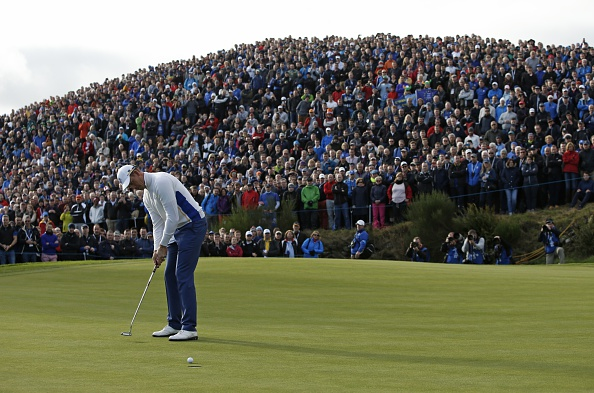 The Ryder Cup is also taking place today ©AFP/Getty Images