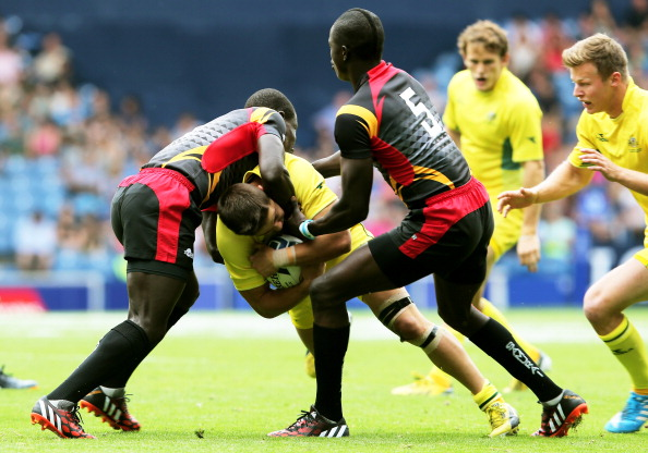 Two members of the Ugandan rugby sevens team at the Commonwealth Games failed to return home ©Getty Images