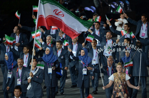 Iranian athletes are preparing for the Asian Para Games next month ©AFP/Getty Images