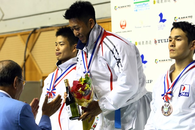 Japanese athletes dominated the medal count at the WKF Premier League event in Okinawa ©JKFan/WKF