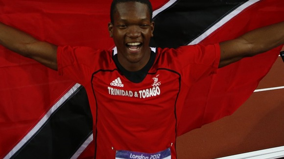 Athletes like Keshorn Walcott, winner of the Olympic gold medal in the javelin at London 2012, helped portray a positive image of Trinidad and Tobago, it is claimed ©Getty Images