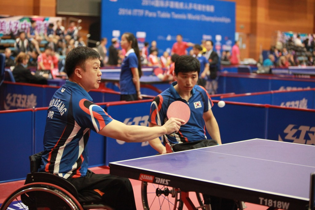 Korea secured two golds on the penultimate day of action at the Para-Table Tennis World Championships ©ITTF