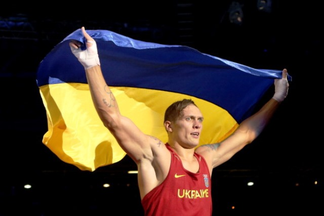 London 2012 gold medallist Oleksandr Usyk is one of ten athletes elected to the NOCU Athletes' Commission ©Getty Images