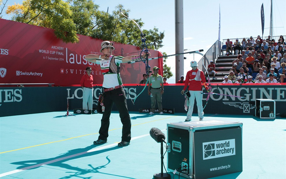 Longines has announced the continuation of its partnership with Wordl Archery ©Longines