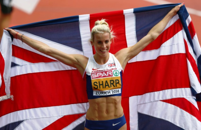 Lynsey Sharp will not be competing under the British flag at Rio 2016 should Scotland vote for independence ©Getty Images