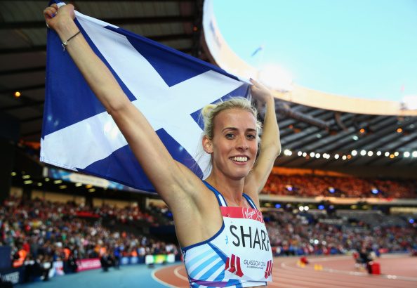 Lynsey sharp has backed the No vote for Scottish independence ©Getty Images
