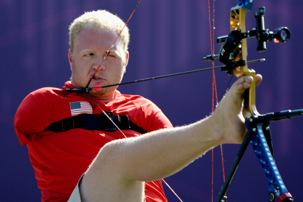 Matt Stutzman's inspiring performance at London 2012 was World Archery's second best moment in the Para history of the sport ©Getty Images