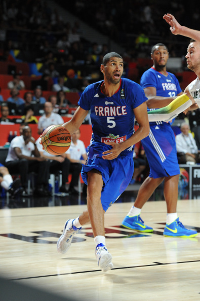 Nicolas Batum was France's top scorer with 27 points as they beat Lithuania to clinch third place in the FIBA Basketball World Cup ©Getty Images