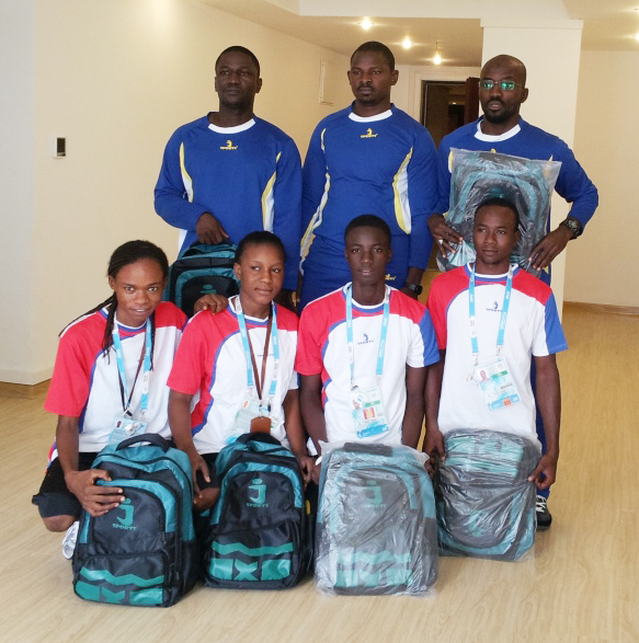 Niger is one of many French speaking countries from where athletes wore kit produced by JSPORTS in Nanjing ©JSPORTS