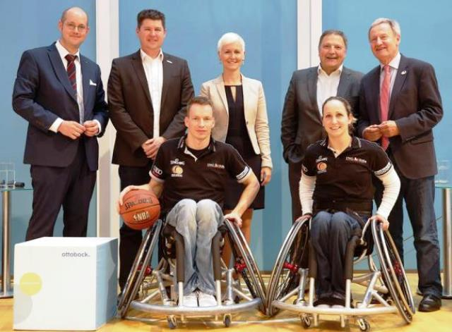Ottobock has been announced as a premium partner of the German national wheelchair basketball teams ©Ottobock