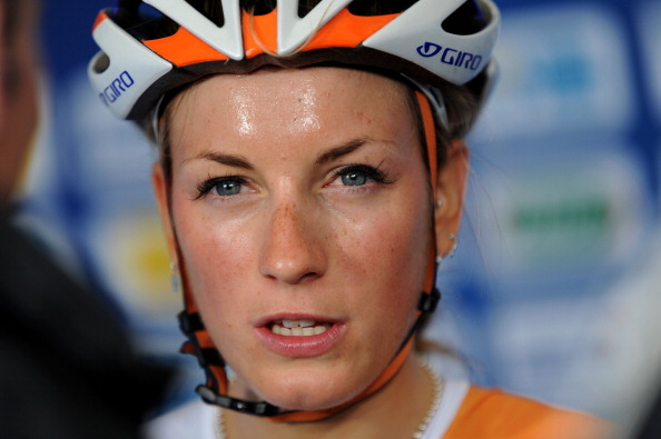 Pauline Ferrand-Prevot claimed the elite women's road race title ©Getty Images