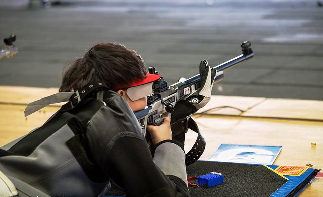 Pei Ruijiao of China shot her way to a junior world title in Granada ©ISSF