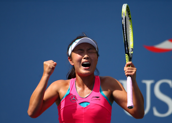 Peng Shuai has continued her career-defining march at the US Open ©Getty Images