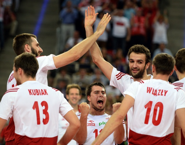 Poland have recorded a historic win over Brazil at the Volleyball World Championships ©Getty Images