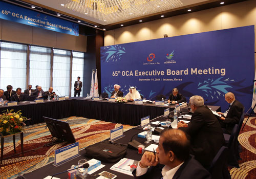 Proposals for Colombo to replace Hambantota were raised during the OCA Executive Board Meeting this morning ©OCA