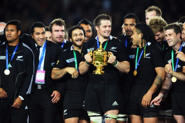 Prozone has provided data analysis services to the last three winners of the Webb Ellis Cup including New Zealand in 2011 ©Getty Images