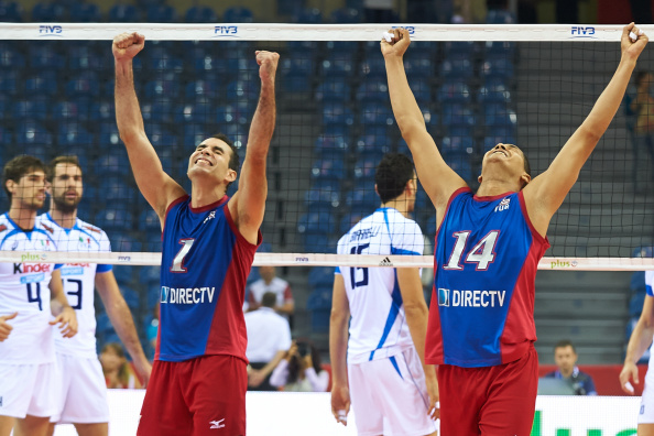 Puerto Rico record superb victory over Italy to keep hopes of progression alive at Volleyball World Championships ©Getty Images