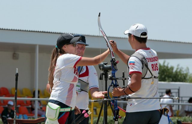 Reigning European mixed team champion Russia will be looking for similar success in Baku ©2014 WA