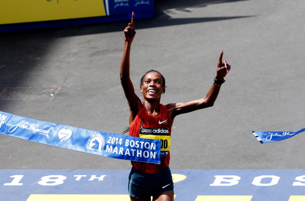 Rita Jeptoo is the favourite for the women's World Marathon Majors crown ©Getty Images