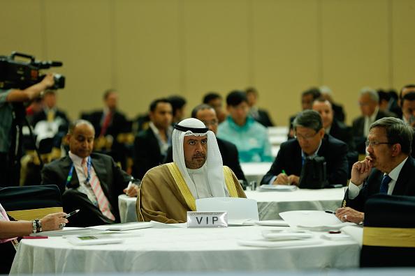 Sheikh Ahmad attending the OCA Sponsors Summit ©AFP/Getty Image