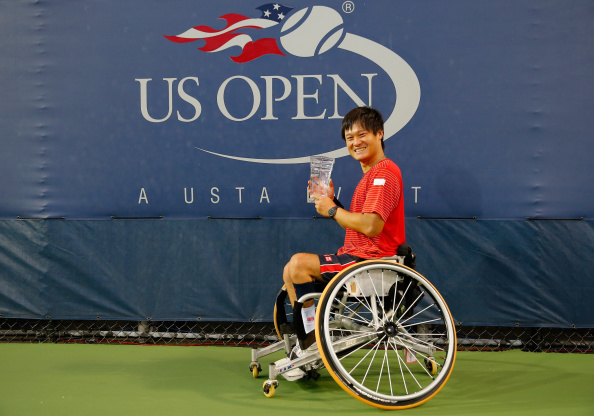 Shingo Kunieda and Yui Kamiji ensure double delight for Japan at US Open ©Getty Images