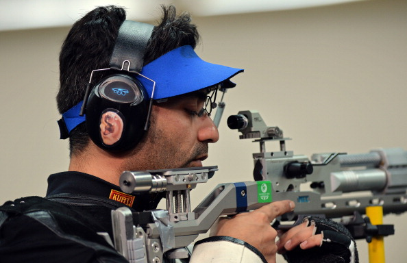 Shooting star Abhinav Bindra has criticised Indian administrators for missing his accreditation deadline ©AFP/Getty Images