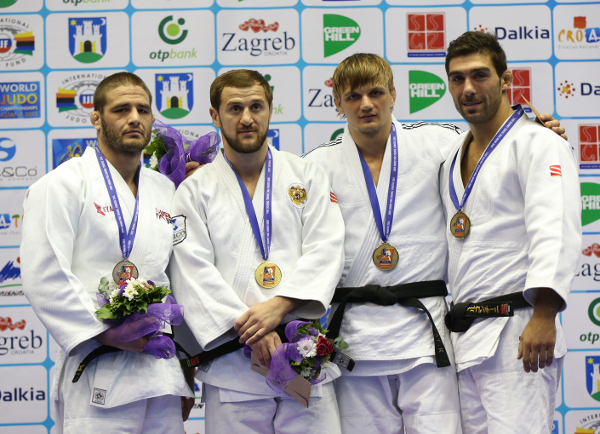 Russia's Sirazhudin Magomedov was another European champion to secure gold as he lifted the under 81kg title at the Zagreb Grand Prix ©IJF