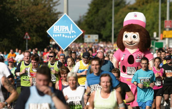 Sport England has entered into a partnership with the Great North Run ©Getty Images