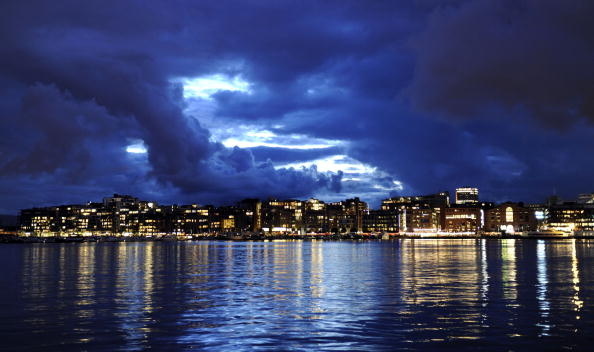 Stormy clouds are continuing to hang over Oslo's Olympic and Paralympic bid ©AFP/Getty Images