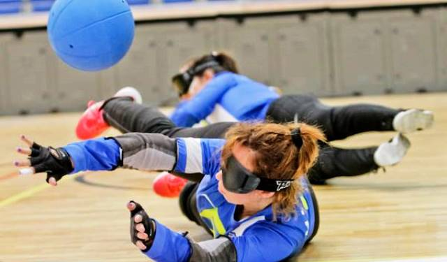 Sweden have secured a semi-final spot in Budapest with a win and a draw at the IBSA Goalball European Championships ©Kalocsai Richárd