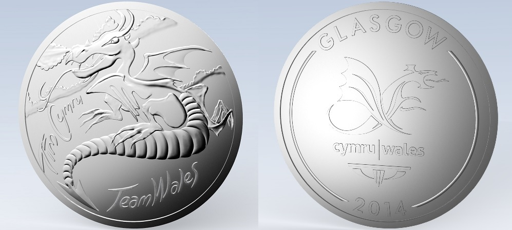 Team Wales medals winners will receive commemorative medals to honour their efforts at the 2014 Commonwealth Games in Glasgow ©Team Wales