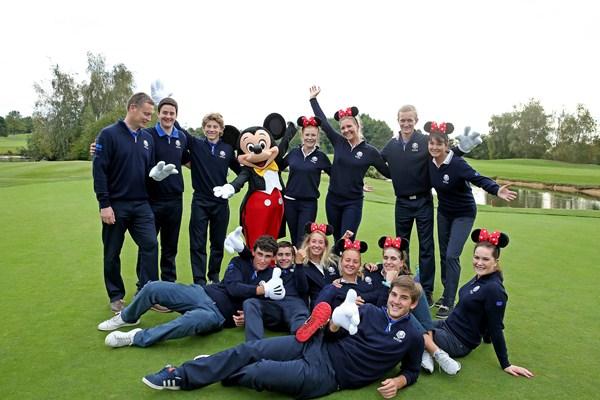 The 2018 Junior Ryder Cup is set to be held in Disneyland Paris ©European Tour