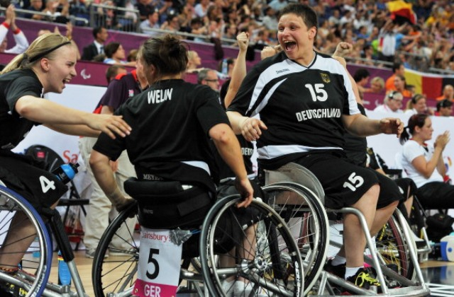 The German women's side are the reigning Paralympic champions after victory at London 2012 ©AFP/Getty Images