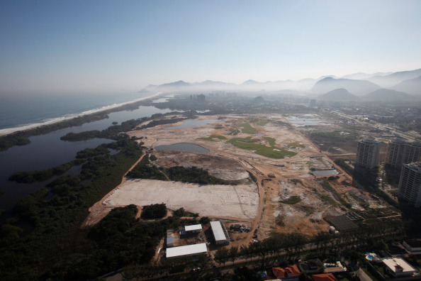 The Rio 2016 Olympic golf course is still in limbo after no was compromise reached at a hearing ©Getty Images