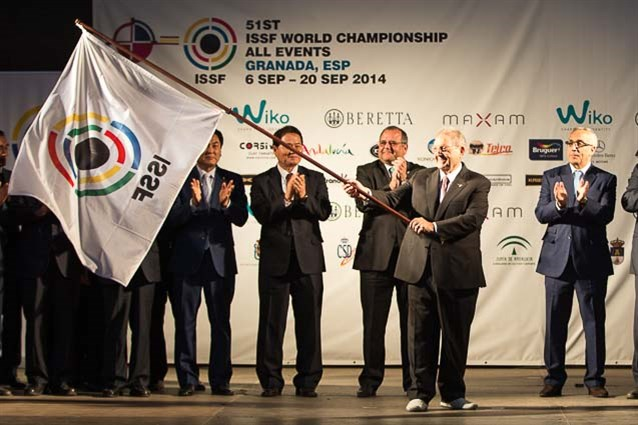 The Shooting World Championships came to a close in Granada ©ISSF