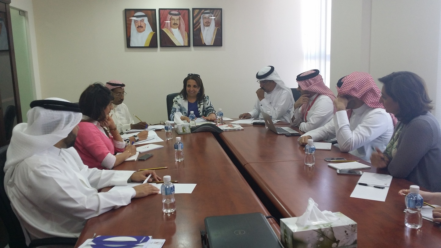 The Standing Committee met to discuss preparations for next month's visit ©Bahrain Olympic Committee