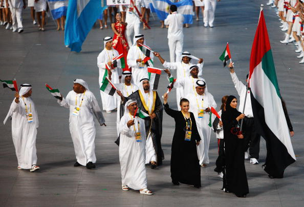 The United Arab Emirates has embarked on an ambitious project to bring sporting glory to the nation by the 2024 Olympic Games ©Getty Images