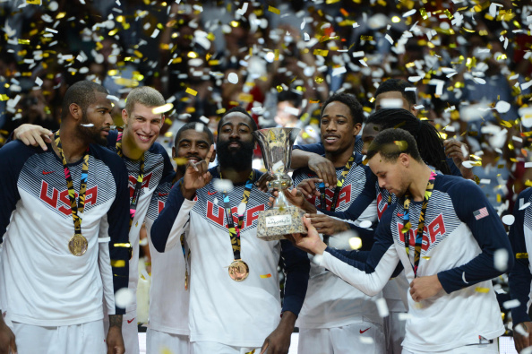 The United States are the basketball world champions ©Getty Images