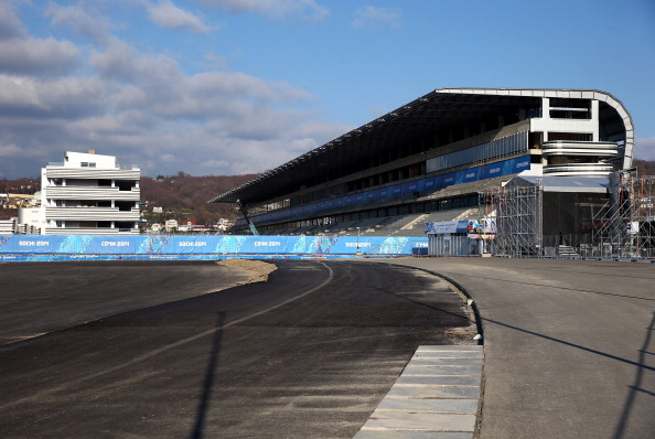 The finishing touches are being put to the Sochi Autodrom, pictured here in February ©Getty Images
