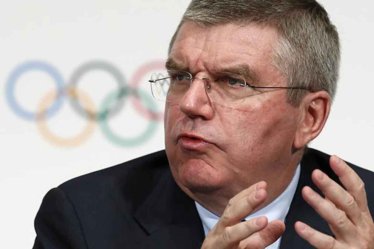 """After meeting Brian Cookson in June, the IOC President Thomas Bach said the measures introduced within the UCI were """"very impressive"""" ©Getty Images"""