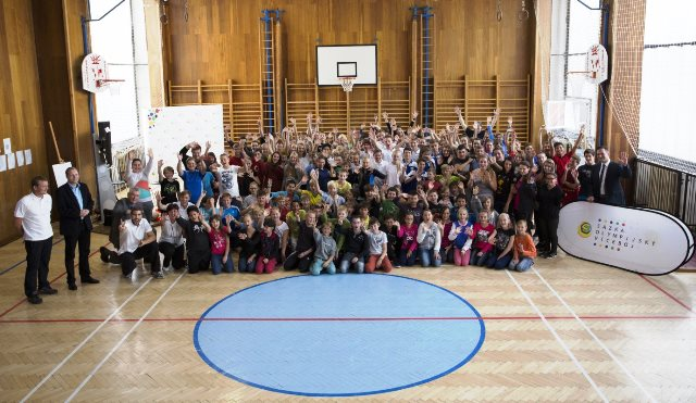 Thousands of school children across Czech Republic have signed up to a nationwide Olympic Combined Sports campaign ©CAC
