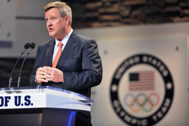 USOC chief executive Scott Blackmun believes the 2019 Athletics World Championships in Eugene would benefit any US bid for 2024 Olympic and Paralympic Games ©Getty Images