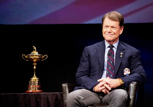 US Ryder Cup captain Tom Watson has named his three wildcards for the match against Europe later this month ©Getty Images