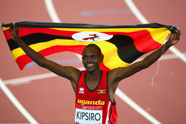 Ugandan athletes managed some strong performances at Glasgow 2014, including a historic 10,000m victory for Moses Kipsiro ©Getty Images
